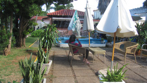Le jardin de l'hôtel Pullman (oui il y a un hôtel Pullman à Varadero!) - Av. Primera coin Calle 50