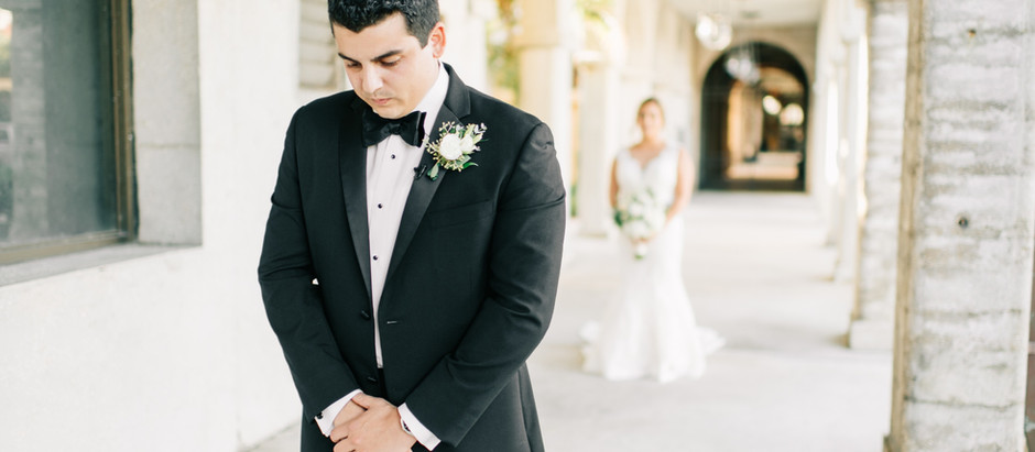 Janelle & Michael | Treasury On The Plaza Wedding | St.Augustine Wedding