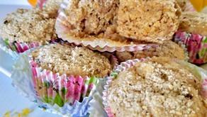 Citrus Chickpea Muffins (VIDEO)