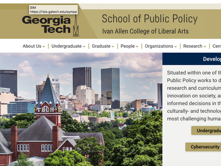 Looking for a leader: for the School of Public Policy at Georgia Tech