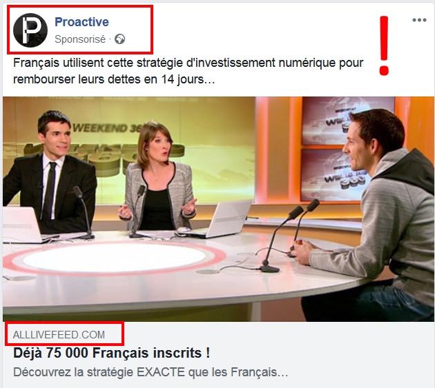 Proactive Facebook