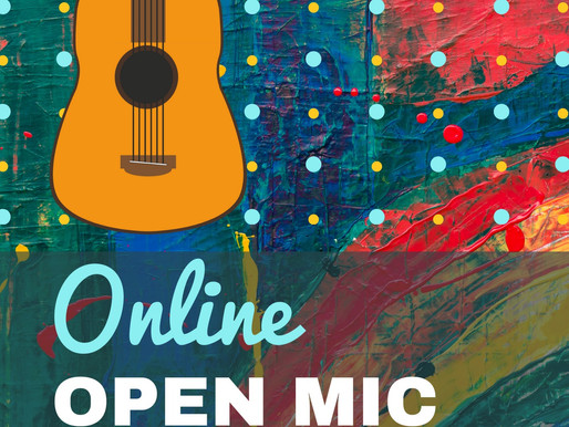 Online Open Mic for CDU students