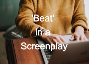 What is a 'beat' in Scriptwriting?