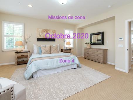 Zones : Missions semaine 43- Zone 4
