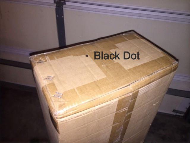 black dot outer box