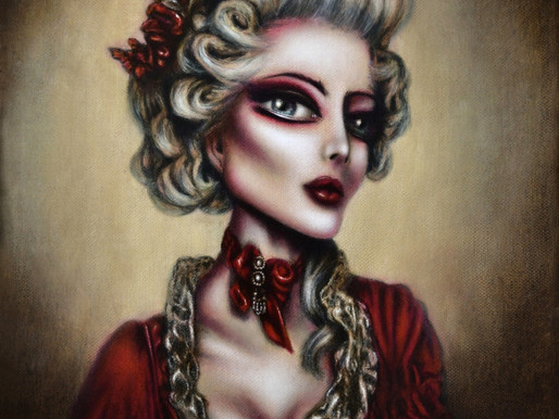 The Trial of Marie Antoinette Painting by Tiago Azevedo