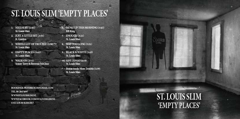 "Ton Odijk Recensie: ""Empty Places"" St. Louis Slim"