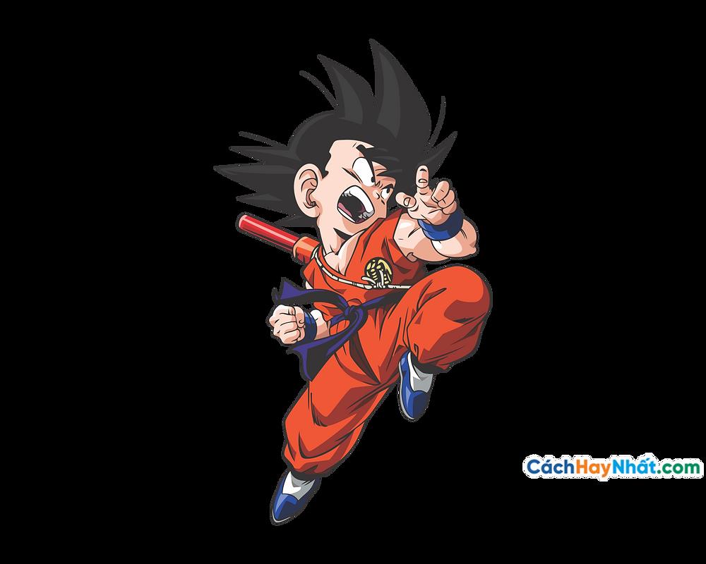 Vector Corel PNG 7 Dragon Ball - Songoku Kakalot