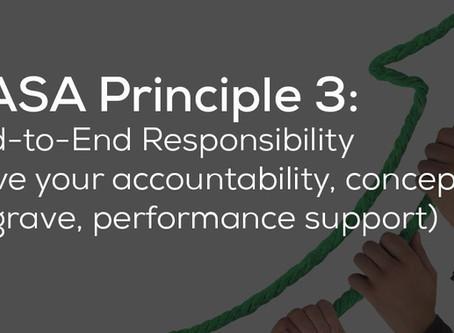 End To End Responsibility - DevOps Principle #3