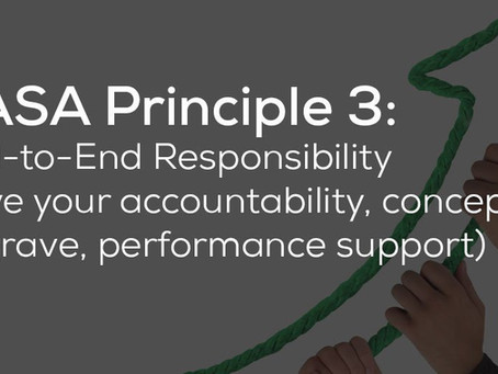 End To End Responsibility - DevOps Principle #3
