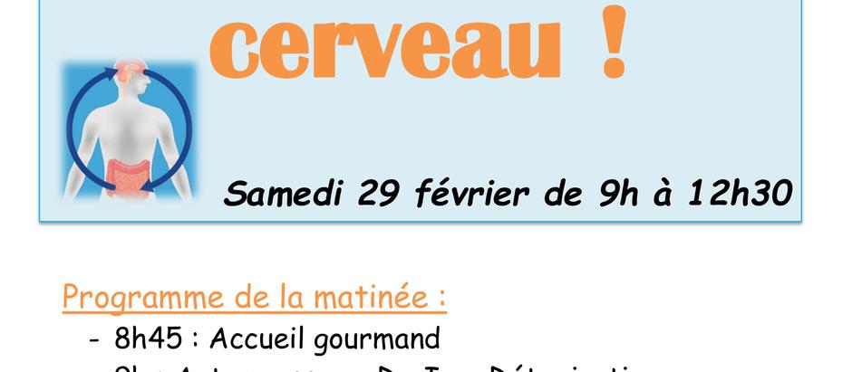 """Matinée """"Nutrition et Bien-être"""""""