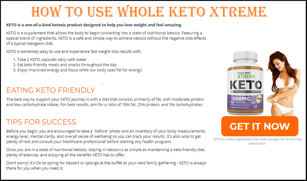 Whole Keto Xtreme CANADA Price, Work, Ingredients, Benefits |  wow-white-owl-wings