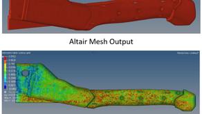 탄소섬유 배향 응력 시뮬레이션 분석, 햄머타커 제품의 구조 강도 향상