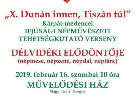 Dunán Innen - Tiszán túl - Délvidéki elődöntő