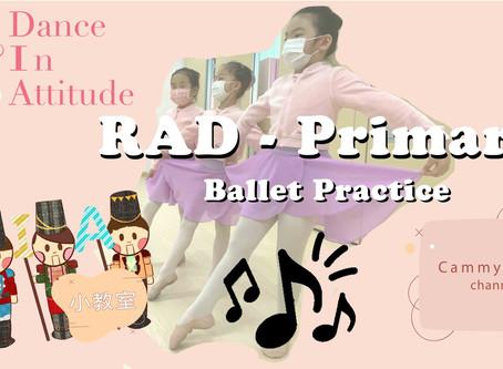 【DIA小教室】- Primary Grade 芭蕾舞考試練習
