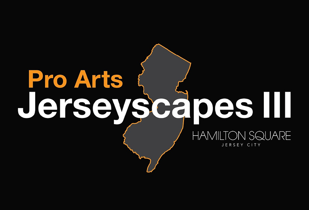 img:  logo for Pro Arts Jerseyscapes at Hamilton Square Condominiums  alt:  outline of the state of New Jersey