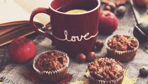Zdravé jablečné muffiny s drobenkou