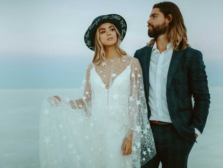 Styled Shoot in Wendover, Utah at the Bonneville Salt Flats