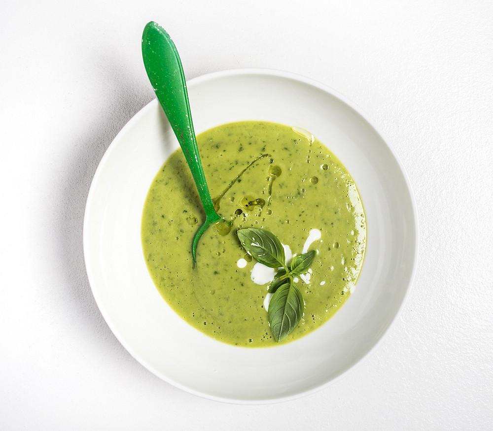 Avokadų sriuba, vmg receptas