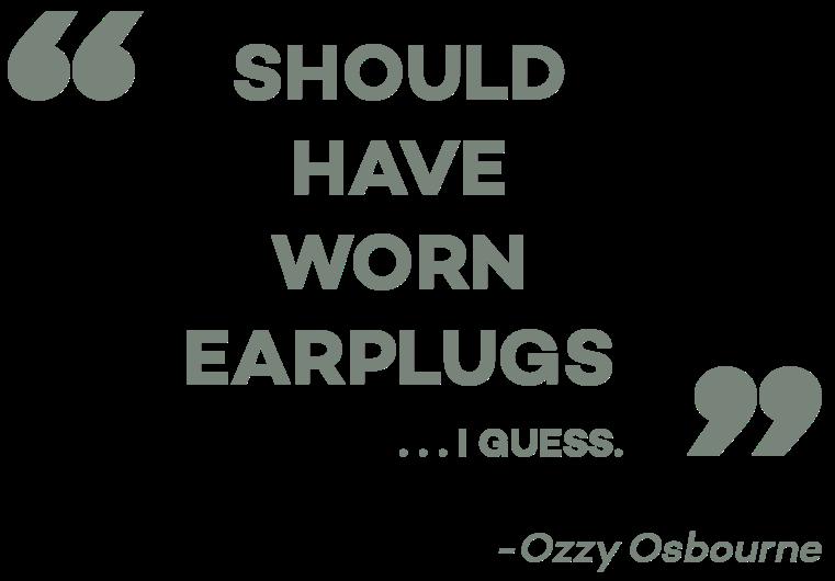 Ozzy Osbourne S Tinnitus A Vital Warning To Music Lovers