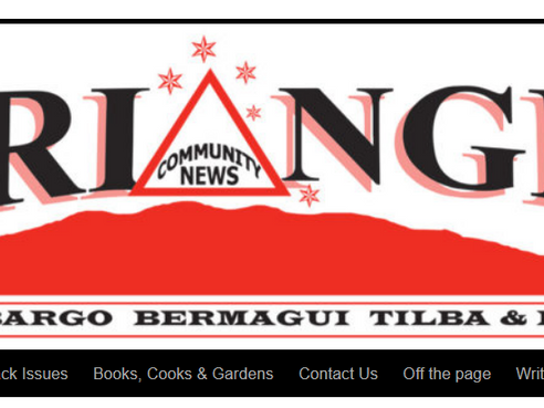 April edition of the Triangle out NOW
