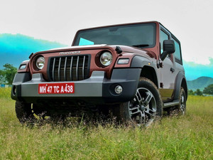Mahindra Thar 2021 - Prices Announced, starting from Rs 9.80 Lakhs