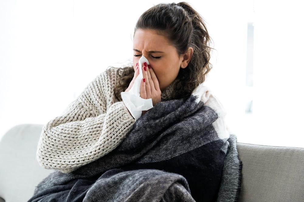 alergias no frio
