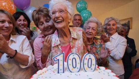 100살의 비결