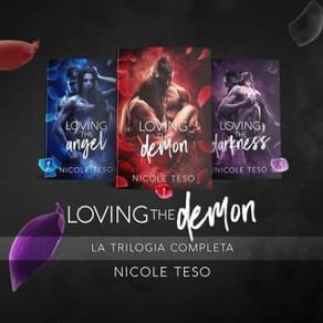 """Review Tour - Trilogia - """"Loving the Demon"""" di Nicole Teso"""
