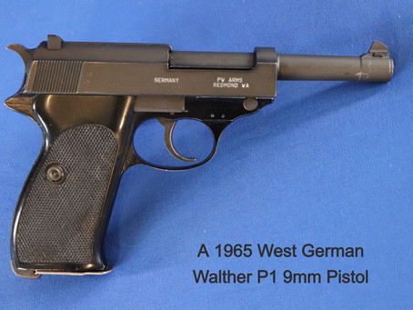 The Walther P38, and Subsequent Pistol Awesomeness - Part 2