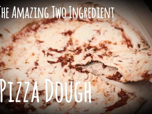 The Amazing 2 Ingredient Pizza Dough