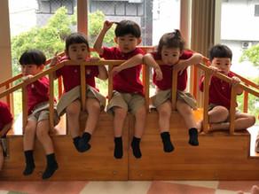 4月から(Puppy Class)1〜2歳児クラススタートしました。