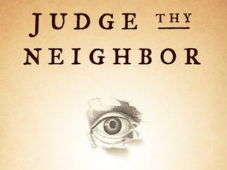 Judge thy Neighbor - New book by Patrick Bergemann