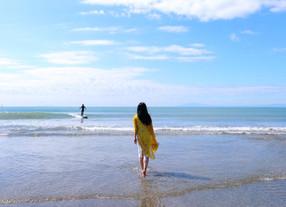 山形の田んぼの中から湘南の海へ。海と海の人たちから「自分の声」に素直になることを教わった。