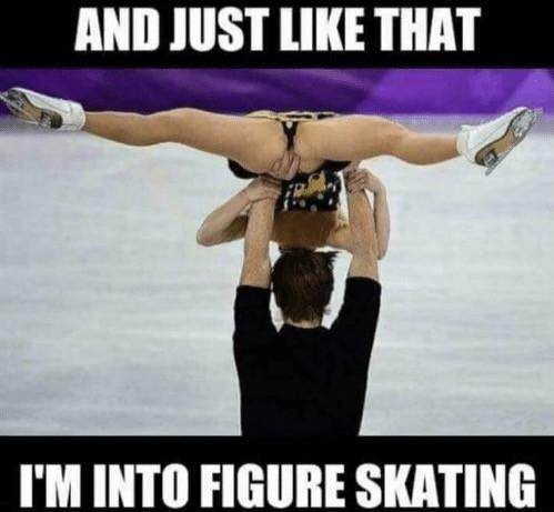 Funny Figure Skating Memes