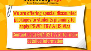 ConnectingEdge Immigration offering Special Discounted Packages to International Students