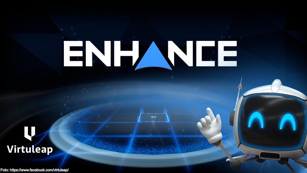 O Enhance é uma aplicação de realidade virtual que oferece uma variedade de jogos para treino cognitivo, que testam e treinam várias habilidades cognitivas como a memória, resolução de problemas, orientação espacial e controlo motor.