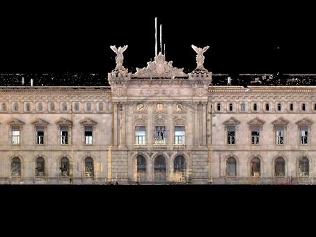 Escaneo y digitalización edificio de Aduanas de puerto Barcelona (1896 - 1902)