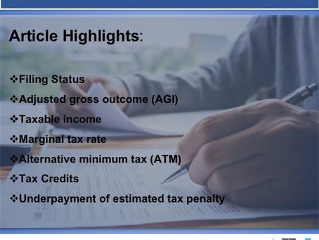 Understanding Tax Lingo