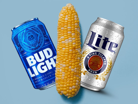 The Battle Of The Light Beers: corn vs. rice and what it means for our health