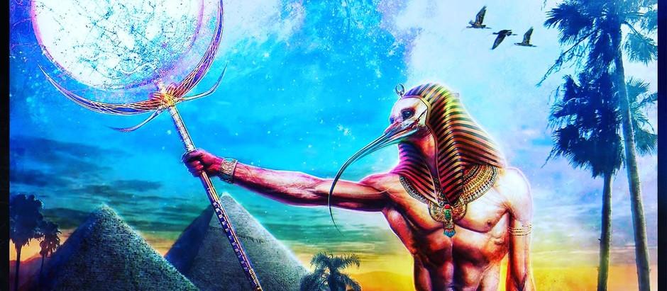 THOTH - Zümrüt Tabletler Tablet XIII: Yasamin ve Ölümün anahtarları.