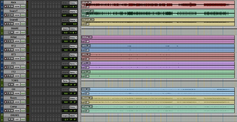 Online mixing services