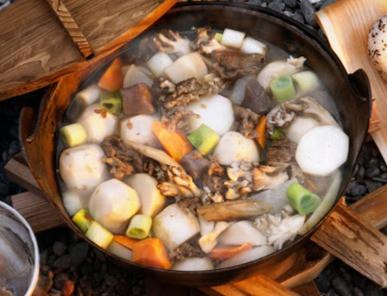 ●秋はMaeraで「芋煮会」