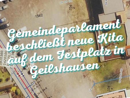 """""""Bürger für Rabenau"""" begrüßen Kita-Neubau in Geilshausen"""