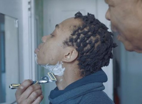 Gillette Ad Celebrates First Shave of a Young Black Trans Man