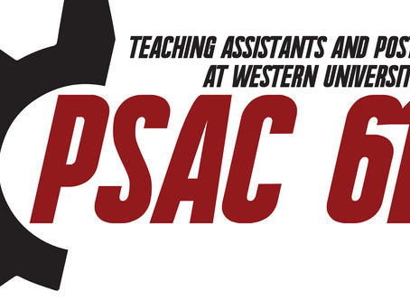 PSAC UWO Local 610 Election Candidate Nominations -Updated May 22nd