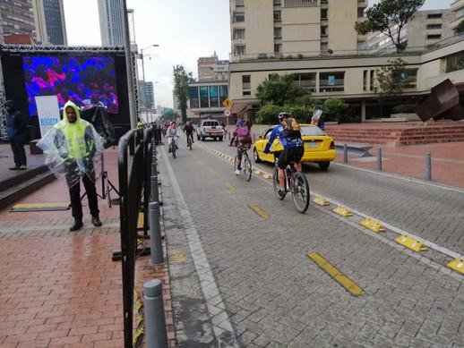 Así transcurre el día sin carro y sin moto en Bogotá