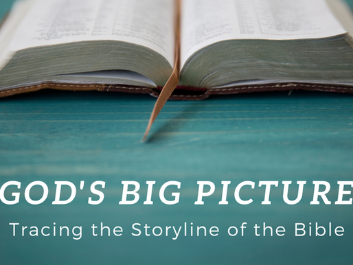 Resources for God's Big Picture Sermon Series