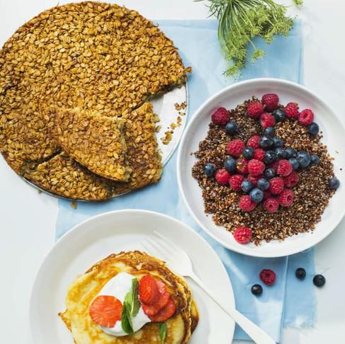 Pusryčiaujame sveikai: saldžios bolivinių balandų salotos su vaisiais ir riešutais