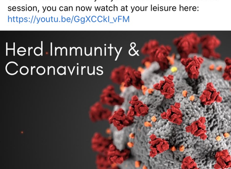 """Playback """"Herd Immunity & Cornoavirus"""""""